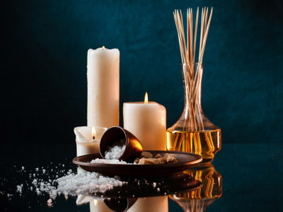 ritual con velas aromáticas fuengirola